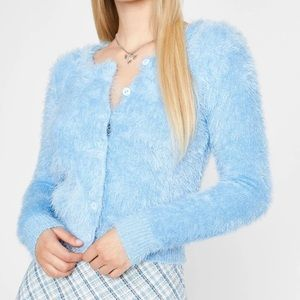 NWT Forever 21 Furry Cardigan